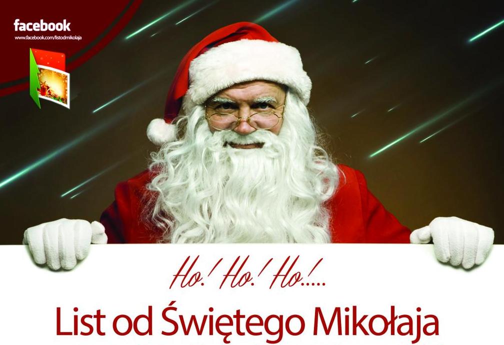 List Świętego Mikołaja do pierwszaków