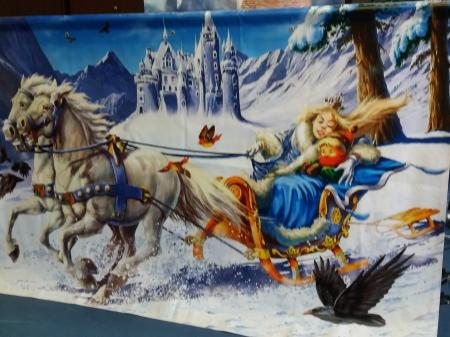 Teatr lalek -przedstawienie pt. Królowa Śniegu