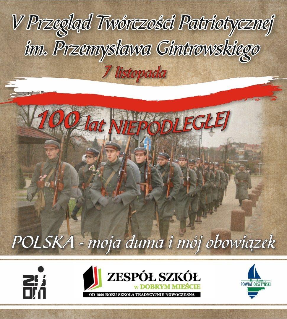 Podsumowanie konkursu: Przegląd Twórczości Patriotycznej im. Przemysława Gin