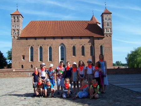 Wycieczka klas młodszych do Muzeum Warmii i Mazur w Lidzbarku Warmińskim
